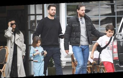Kourtney Kardashian 'Thankful' For Ex Scott Disick & Their '3 Special Ones' On Father's Day — See Pic