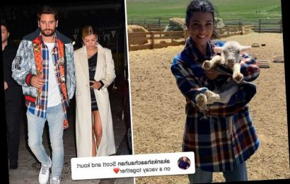 Kourtney Kardashian and Scott Disick spark romance rumors as she rocks same flannel shirt he wore with ex Sofia Richie – The Sun
