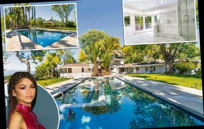 Inside Zendaya's new $4 million Los Angeles mansion featuring a giant pool, cabanas and a 2-bedroom guest house – The Sun