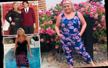 Gemma Collins says 'I'll be pregnant next year at 40' after losing almost 3st in lockdown to combat fertility problems