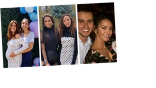 Rochelle Humes, Stacey Solomon and Michelle Keegan: Celebrity siblings that could be twins