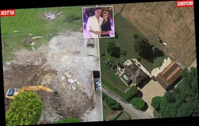 Michelle Keegan and Mark Wright have their£1.3m Essex home DEMOLISHED