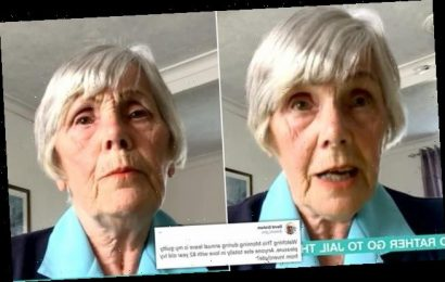 Pensioner says she'd rather go to PRISON than pay her license fee