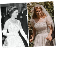 Princess Beatrice Borrows Vintage Dress From Queen Elizabeth For Her Surprise Wedding