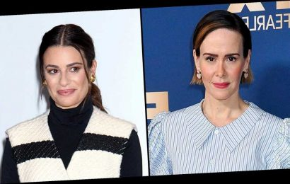 Sarah Paulson 'Pleads the 5th' When Asked About Lea Michele's Behavior