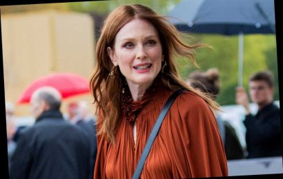 Julianne Moore once moved homes after finding a drunken stranger on her couch