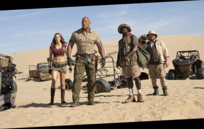 'Jumanji: The Next Level' Ups Game To Rock Past $800M At Worldwide Box Office
