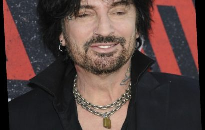 Tommy Lee adds two new tattoos, both on his face