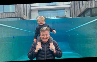 Gordon Ramsay shows off incredible glass swimming pool after angering locals