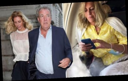 Jeremy Clarkson sparks concerns in video with girlfriend Lisa Hogan 'What is going on?'