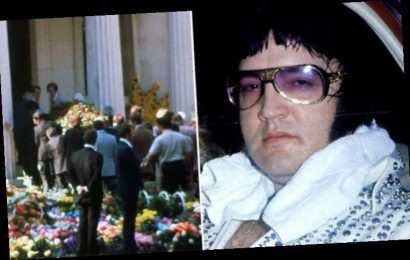 Elvis funeral: THIS is where the coffin sat in Graceland – Vernon's beautiful last gift