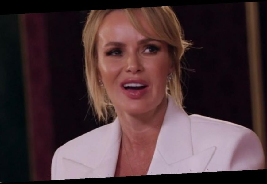 Amanda Holden leaves BGT fans distracted in dangerously plunging white outfit