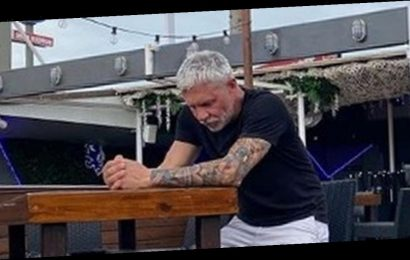 Wayne Lineker pictured slumped and alone as Ibiza bar forced to shut over Covid