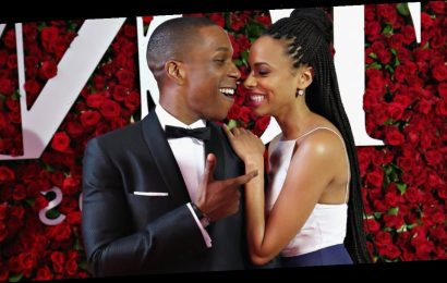 Leslie Odom Jr. and Nicolette Robinson's Adorable Relationship Started as a Showmance
