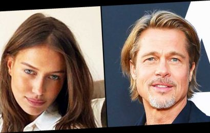 Brad Pitt Takes Nicole Poturalski to Chateau Where He Wed Angelina Jolie