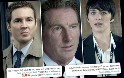 Line of Duty fans stunned by how young cast look as first series returns to BBC eight years on from launch