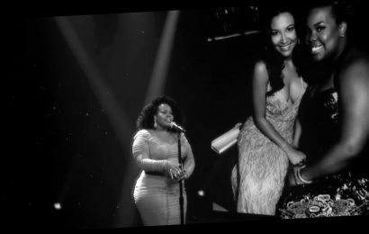 Amber Riley Sings a Tribute for Naya Rivera on 'Jimmy Kimmel Live' – Watch Now!