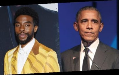 Barack Obama Mourns 'Gifted' Chadwick Boseman After His Tragic Death: 'He Was Blessed'