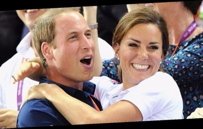 All the Times Prince William and Kate Middleton Engaged in PDA