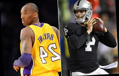 Raiders QB David Carr to Honor Kobe Bryant with Arm Sleeve This Season: 'He Meant So Much to Me'