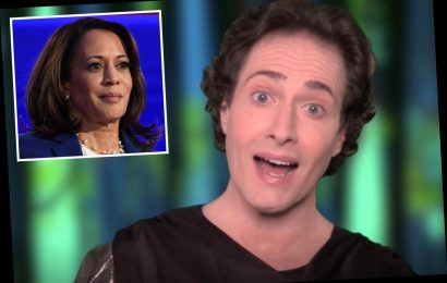 What is Randy Rainbow's Kamala Harris YouTube video that's trending?