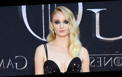 Sophie Turner Reunites With an Iconic 'Game of Thrones' Prop!