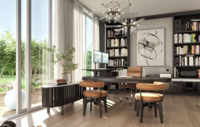 A Miami Beach development has the ultimate luxury work-from-home amenity: private office suites