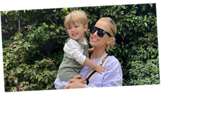 Vogue Williams shares peek at plans for daughter's nursery with incredible neon light