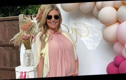 Billi Mucklow gives birth: TOWIE star announces arrival of baby girl with fiancé Andy Carroll