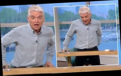 Phillip Schofield 'walks off' This Morning set after huge blunder: 'Thank you and goodbye'