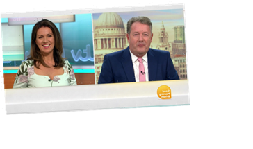 Piers Morgan takes centre stage as he recounts terrifying burglary on luxury family holiday as he returns to GMB