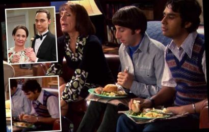 The Big Bang Theory fans call out mind-boggling error in dinner scene Sheldon Cooper's mother