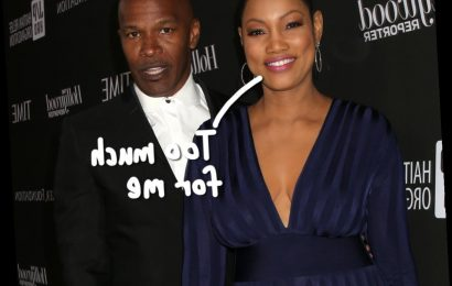 RHOBH Star Garcelle Beauvais Says Jamie Foxx Is 'Hung Like A Horse' As Their Podcast Interview Gets HOT!
