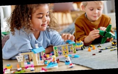 Lego reports sales jump after Covid crisis kept families at home