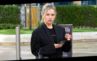 Molly-Mae Hague goes make-up free as she steps out for first time since denying cheating on Tommy Fury