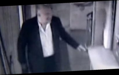 John Wheeler CCTV footage shows Bush aide 'disoriented' shortly before death
