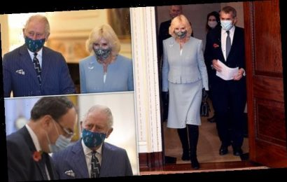 Camilla and Prince Charles visit Headquarters of the Bank of England