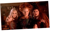 The Sanderson Sisters Are Back! Here's A Sneak Peak At The 'Hocus Pocus' Reunion