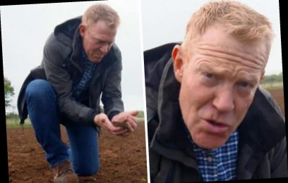 Countryfile viewers 'put off their dinner' as farmer uses human poo to fertilise crops in revolting scenes