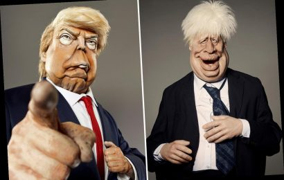Spitting Image's Boris Johnson and Donald Trump star claims leaders 'should shudder, not laugh' at 'grotesque' sketches