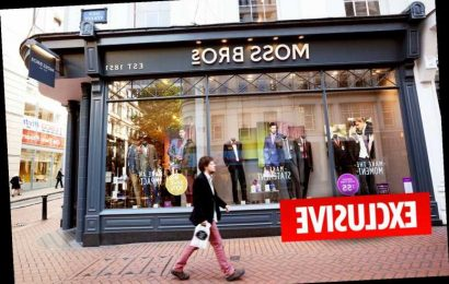 Moss Bros face store closures and job losses as Covid hits demand for suits
