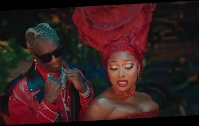 Megan Thee Stallion, Young Thug Go to Wonderland in 'Don't Stop' Video