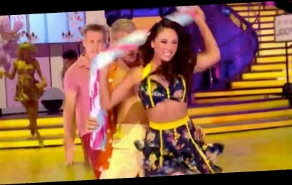 Strictly Come Dancing fans confused as axed Katya Jones appears in group dance