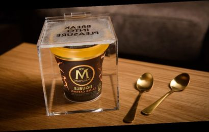 Magnum is giving away free smashable boxes filled with ice cream across the UK