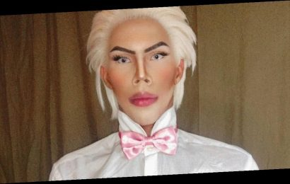 Real life Ken doll slams haters who call him 'fake' and says he's 100% natural