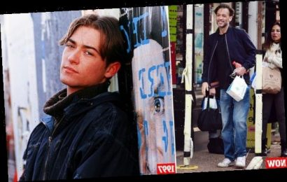 EastEnders heartthrob Paul Nicholls spotted out in a rare sighting