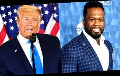 50 Cent Jokes That Donald Trump Is 'Going To Jail' As POTUS Calls For Vote Counting To Stop