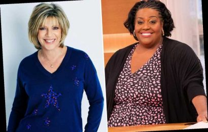 Alison Hammond tells Ruth Langsford she is 'a beauty' after replacing her on This Morning