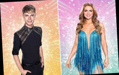 Strictly's Maisie Smith refuses to rule out romance with HRVY 'in the future' after he called her 'beautiful'