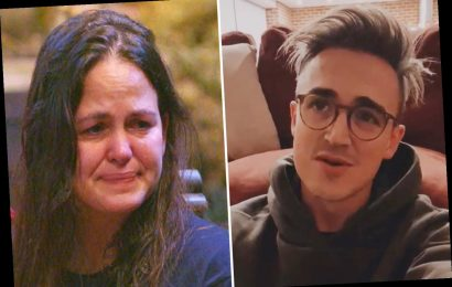 McFly's Tom Fletcher heartbroken and 'struggling to watch' I'm A Celeb as wife Giovanna breaks down in tears